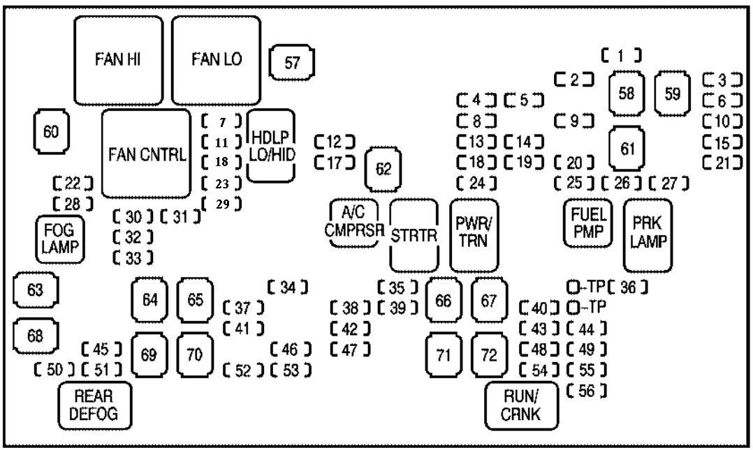 [VW_8583] 2007 Chevy Equinox Horn Relay Schematic Wiring