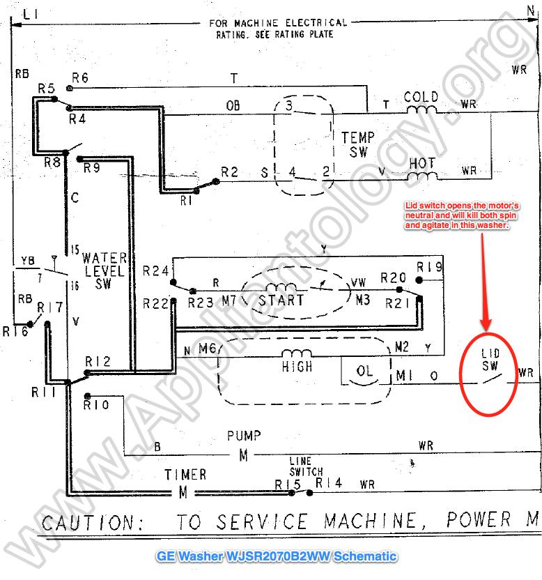 Hf 8322 Ge Washer Motor Wiring Diagram Schematic Wiring