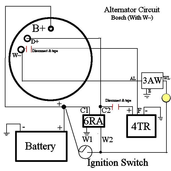 Md 9601 Alternator Wiring Diagram Lucas Free Diagram
