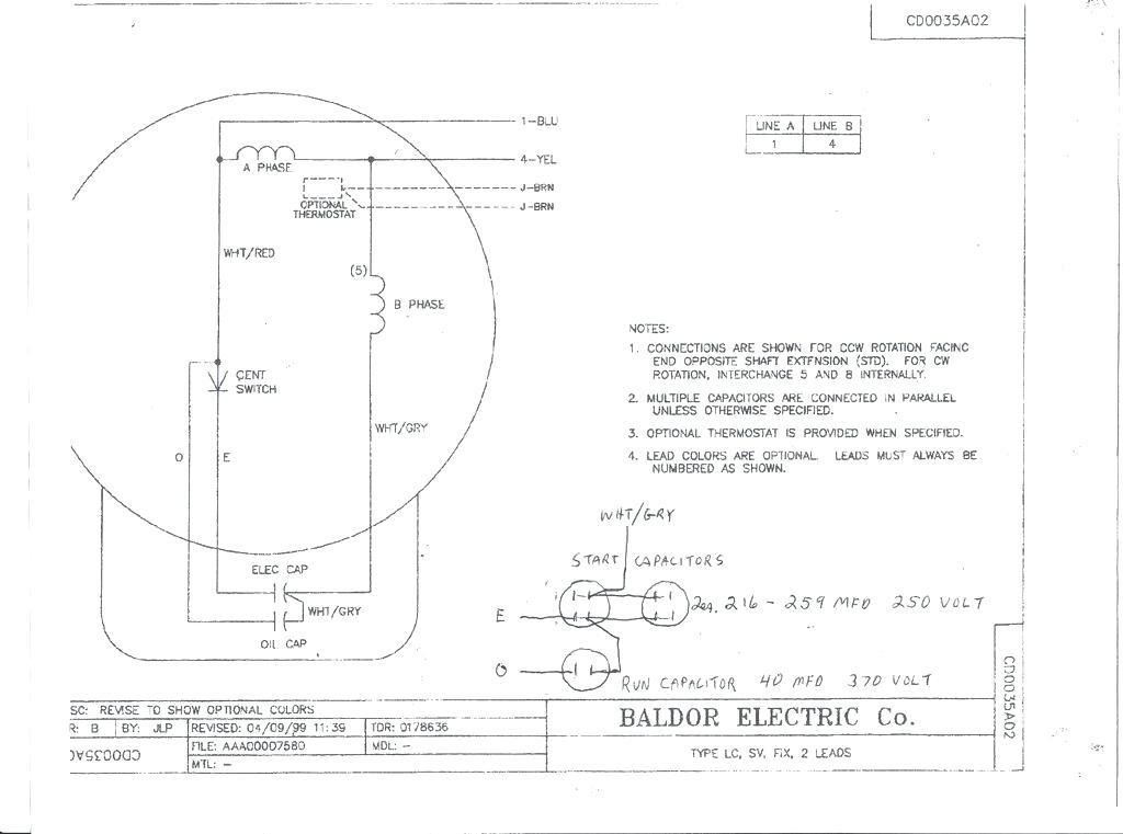 xo9078 doerr electric motors wiring diagram on 230v single