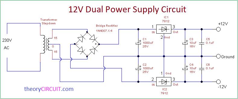Amazing Dual Power Supply Circuit Wiring Cloud Ymoonsalvmohammedshrineorg