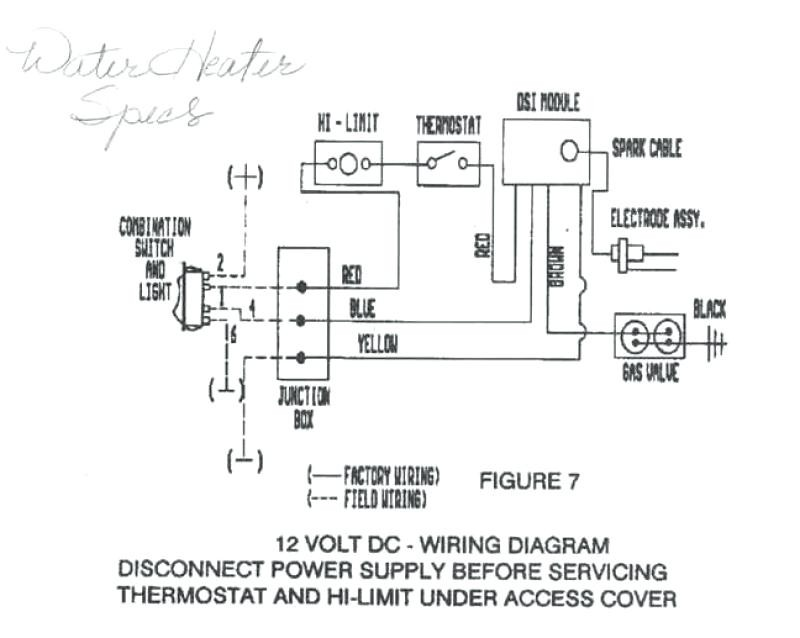 Ln 9893 Suburban Hot Water Heater Also Atwood Rv Hot Water Heaters Wiring Wiring Diagram