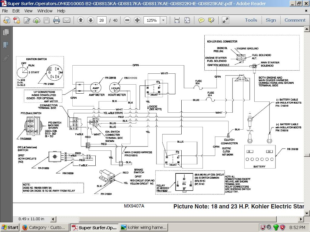walker mower wiring schematics ek 5277  great dane wiring schematic  ek 5277  great dane wiring schematic