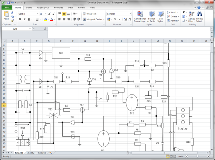 Amazing Create Circuit Diagram For Excel Wiring Cloud Faunaidewilluminateatxorg