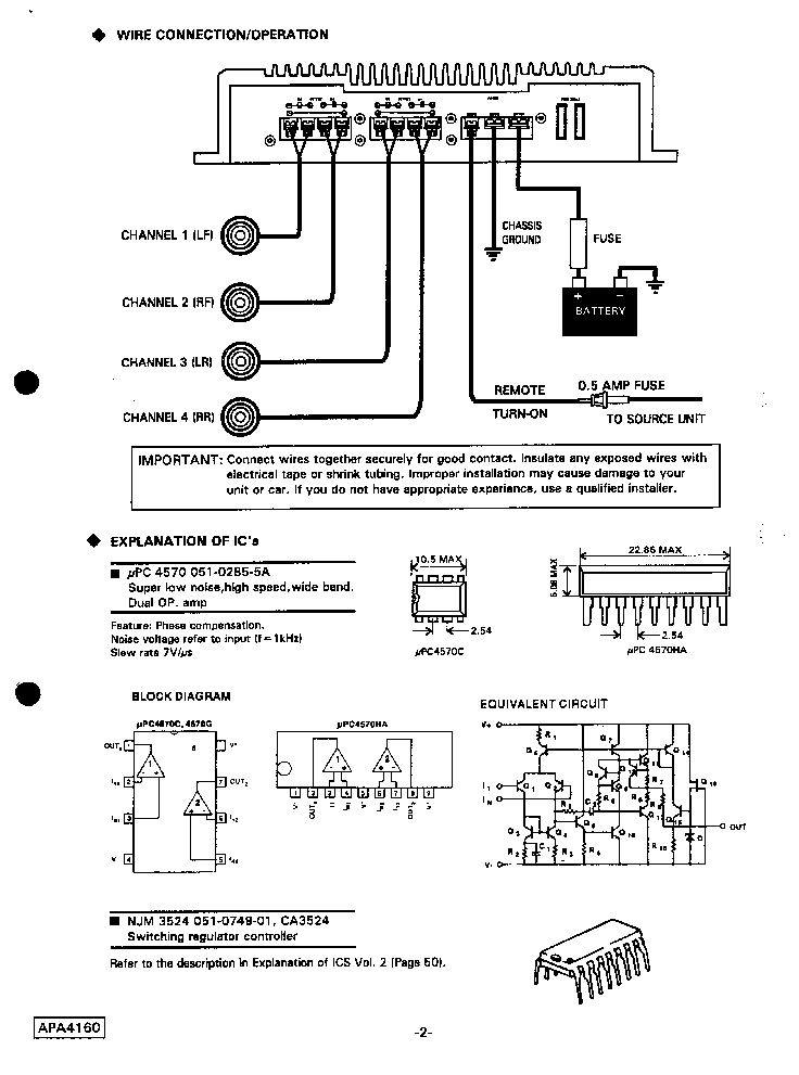 Wiring Diagram Clarion Drx6475