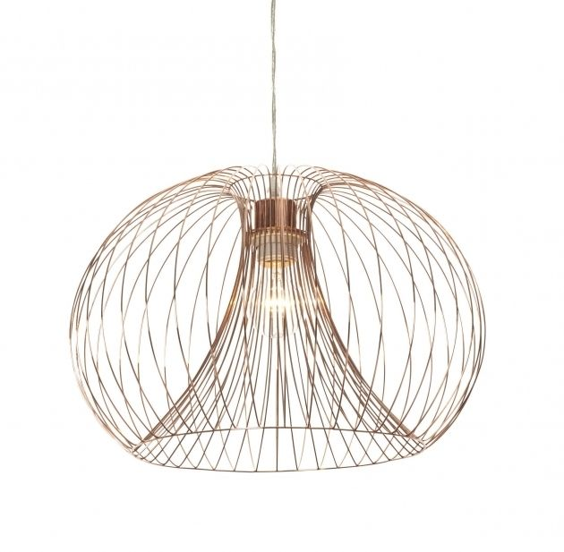 Terrific Beautiful Jonas Wire Copper Pendant Ceiling Light Wire Pendant And Wiring Cloud Eachirenstrafr09Org