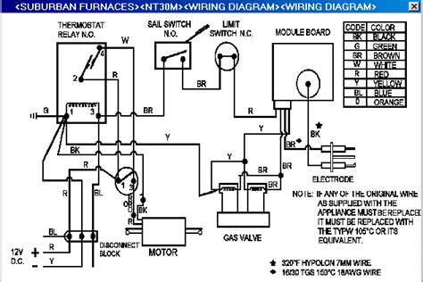 lf2610 suburban rv hot water heater wiring diagram free