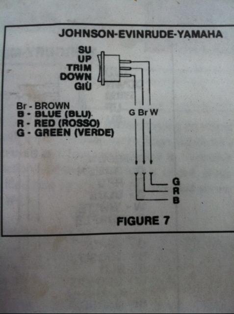 Evinrude Tilt Trim Wiring Diagrams