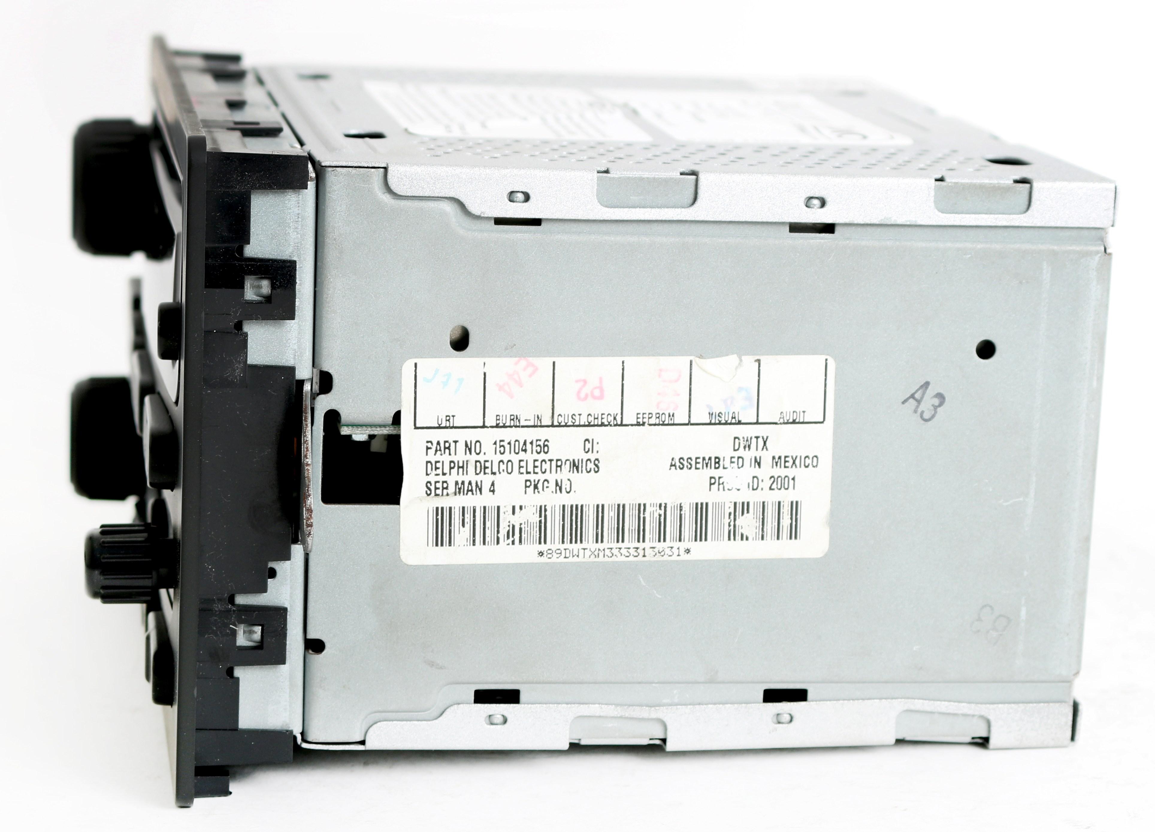 Ol 4083 Delco Model 15071234 Radio Wiring Free Diagram