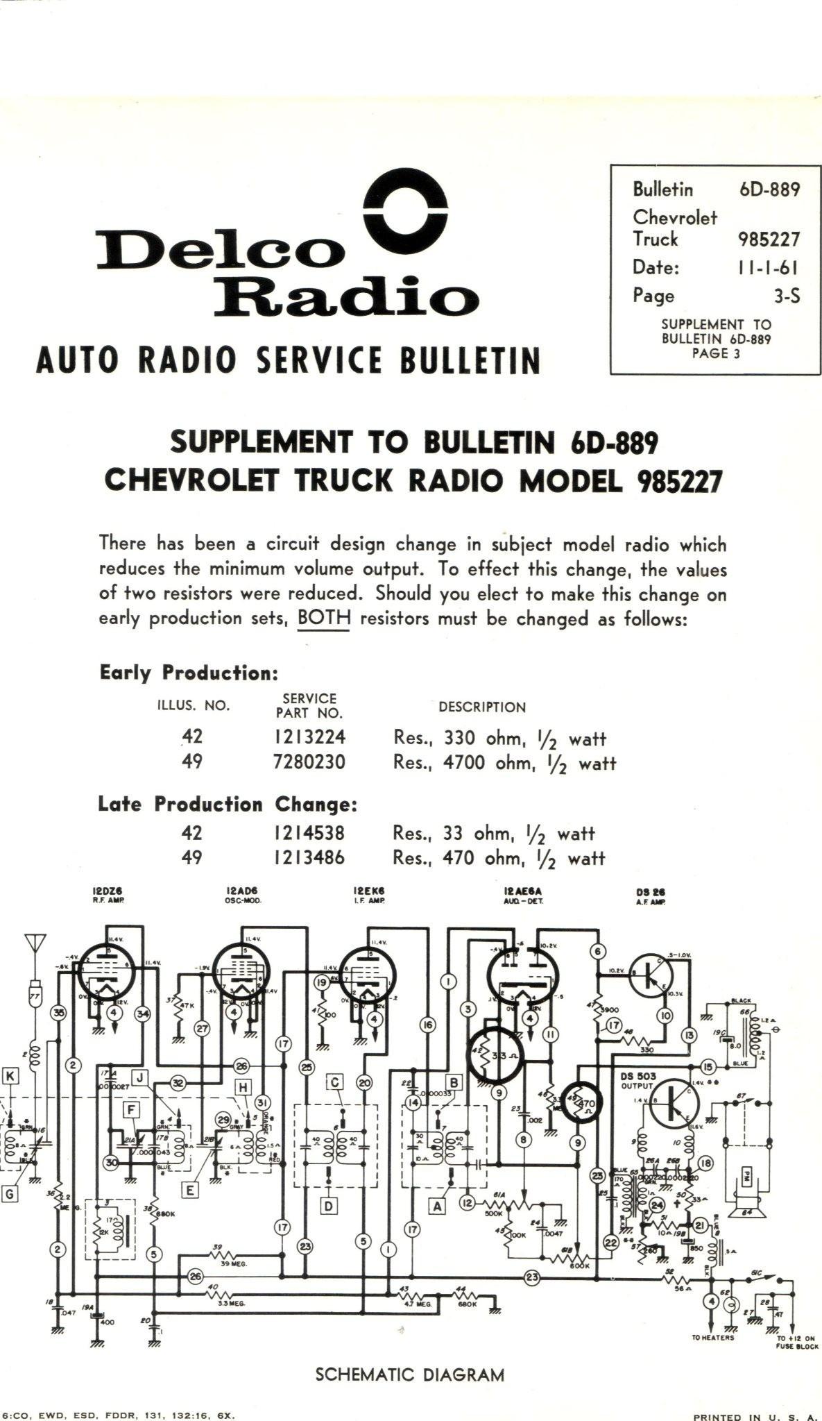 Delphi Radio Wiring Diagram