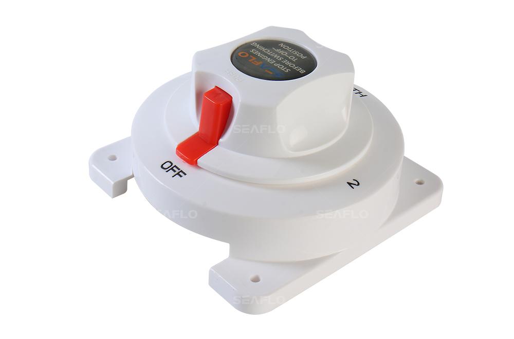 Amazing Marine Battery Disconnect Switch Seaflo Brand 12V Marine Selector Wiring Cloud Licukshollocom