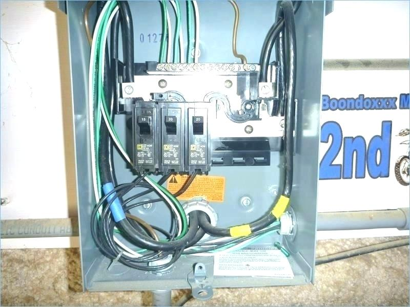 Ob 8949 How To Wire A 100 Sub Panel Diagram Together With Garage Electrical Wiring Diagram