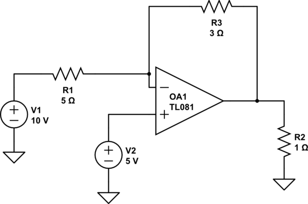 Admirable Operational Amplifier Simple Op Amp Circuit Question Electrical Wiring Cloud Faunaidewilluminateatxorg