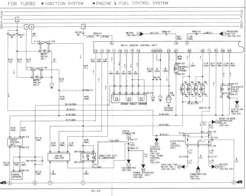 1993 mazda mx6 wiring diagram  wiring diagram solidpanelb