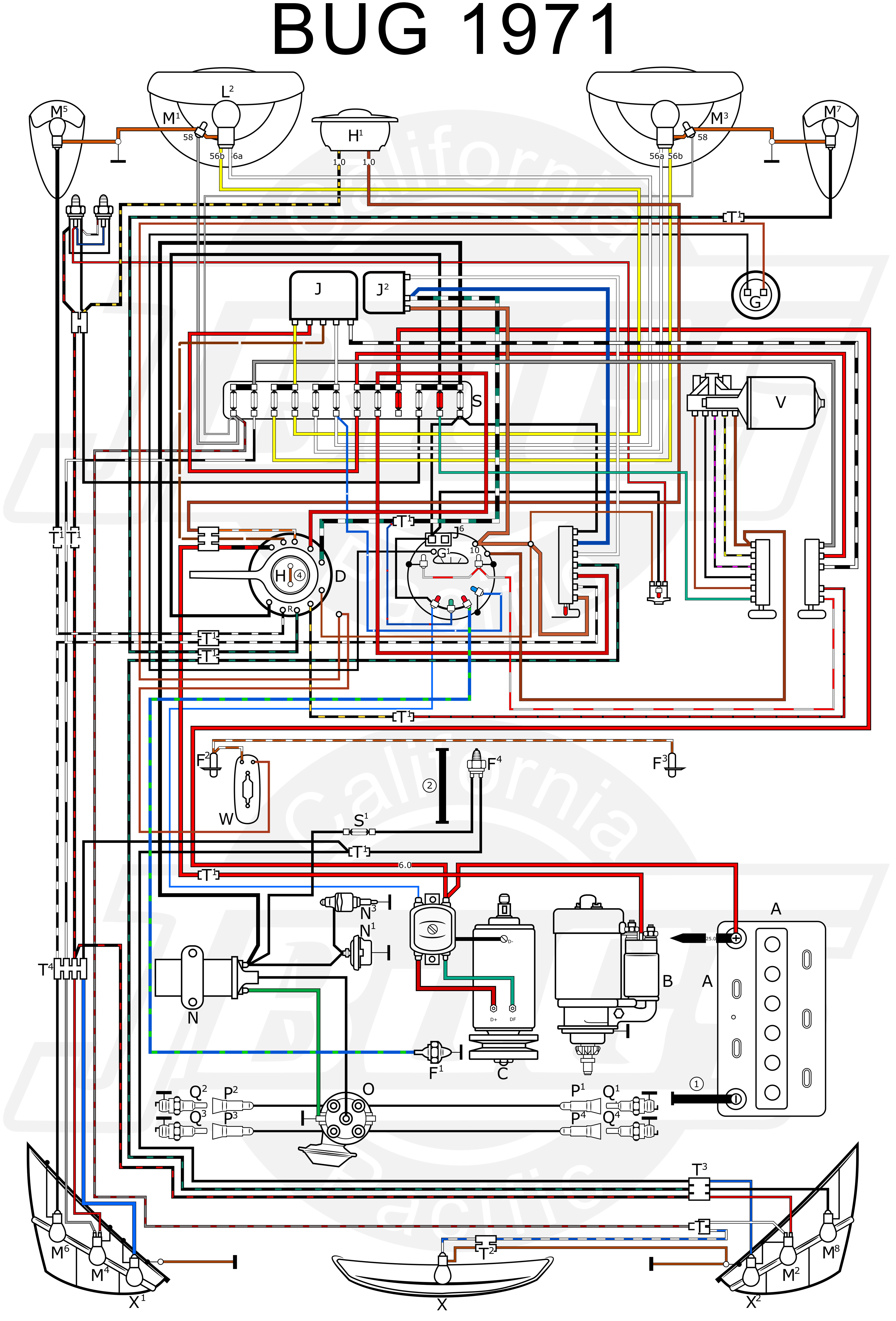wire diagram for 1972 beetle zs 3692  wiring diagram moreover vw alternator wiring diagram as  wiring diagram moreover vw alternator