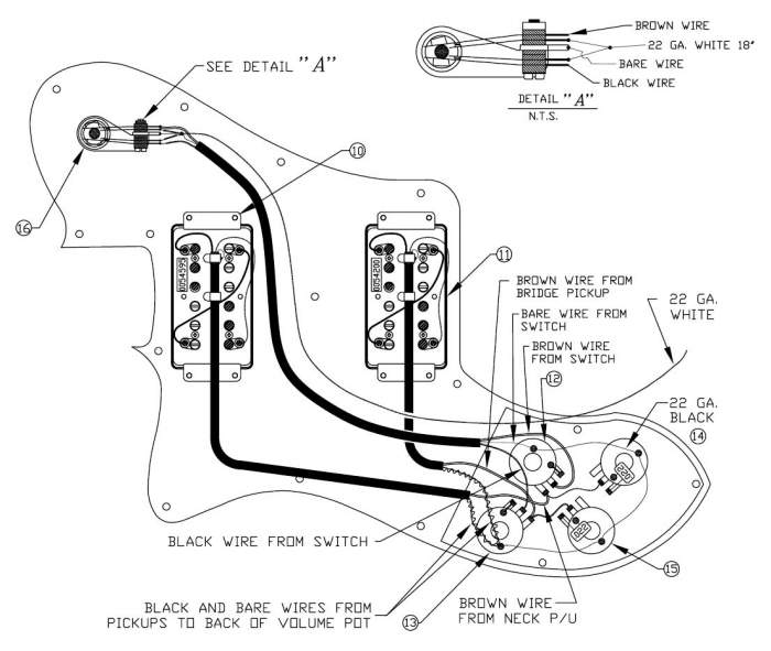 1952 Telecaster Wiring Diagram - Database
