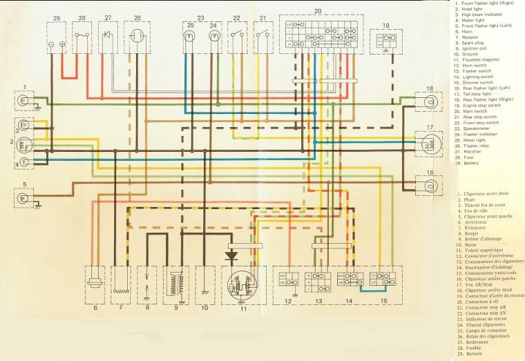 1976 Yamaha Dt250 Wiring Diagram