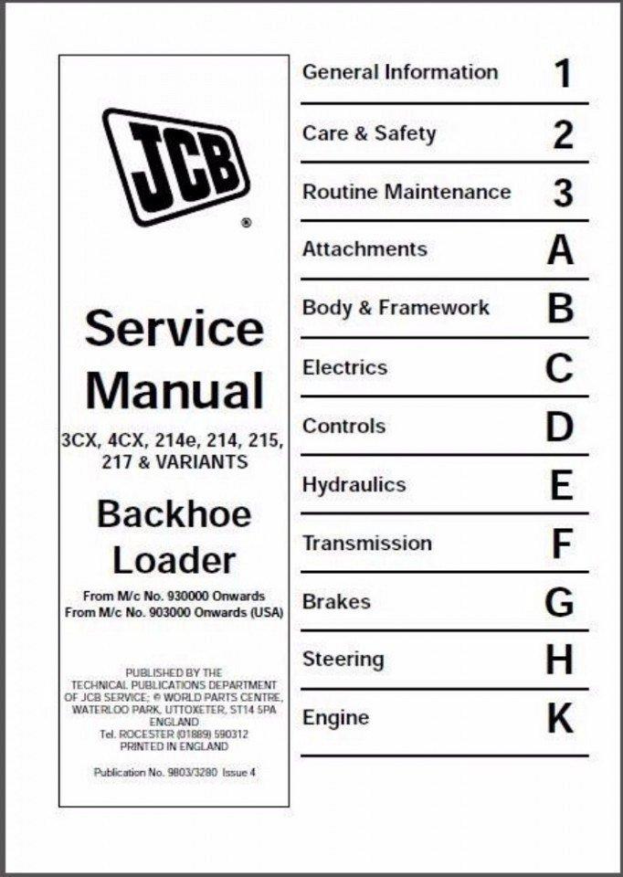 ks1230 jcb 3cx wiring diagram additionally jcb 214 backhoe