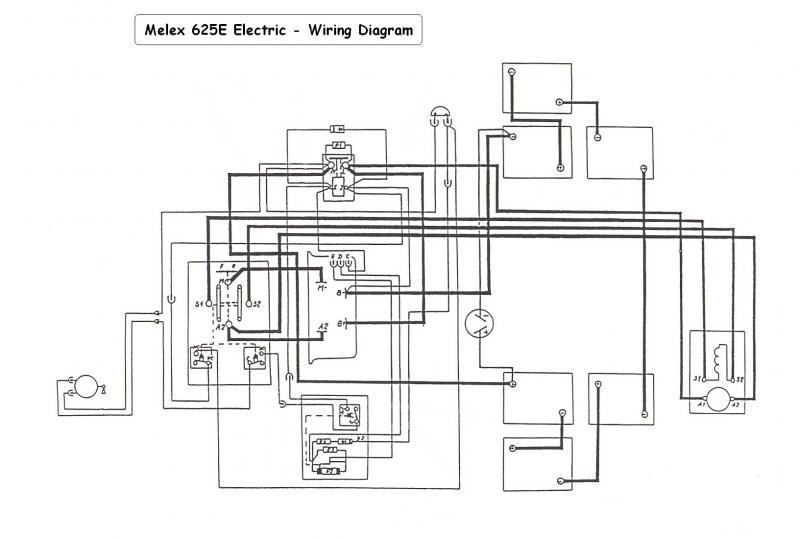 Star Cart Wiring Diagram