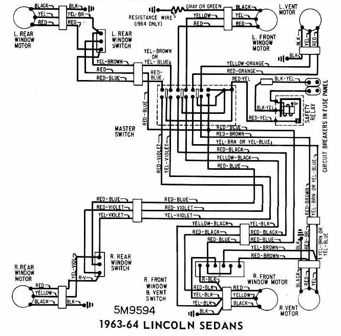 1966 Lincoln Continental Wiring Diagram - Wiring Diagram