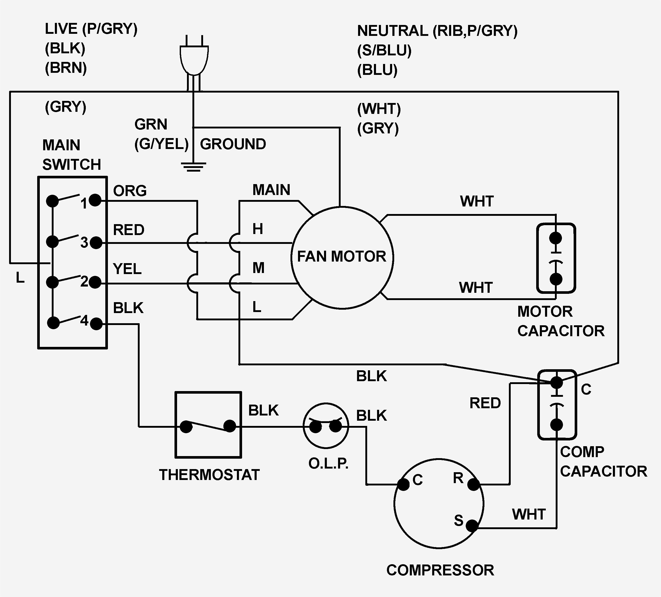 O General Window Ac Wiring Diagram -2001 Toyota Echo Wiring Diagram Free  Download | Begeboy Wiring Diagram SourceBegeboy Wiring Diagram Source