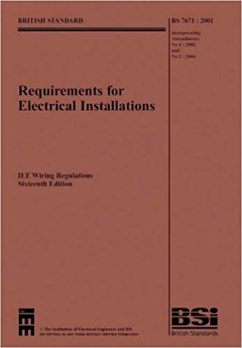 Super Iee Wiring Regulations Bs7671 2001 Incorporating Amendments No 1 Wiring Cloud Filiciilluminateatxorg