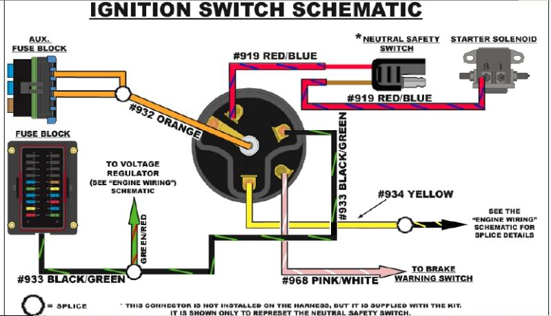 Pollak Marine Ignition Switch Wiring Diagram