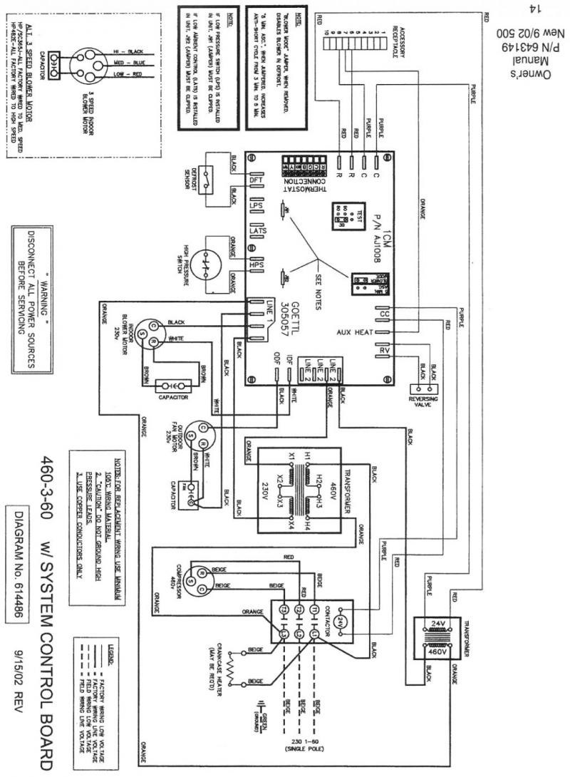 Nordyne Heat Pump Wiring Diagram - Collection