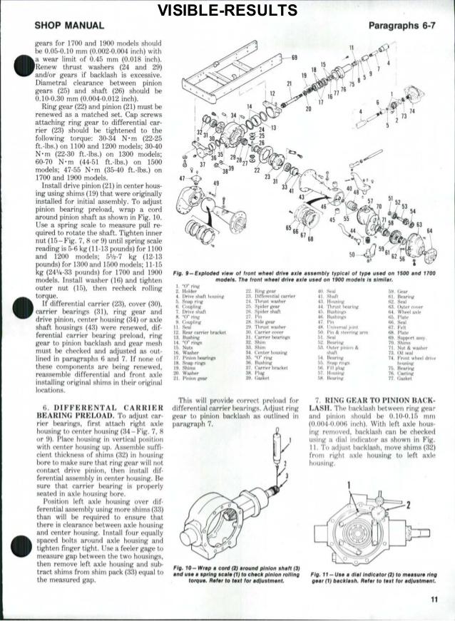 Tractor Alternator Wiring Diagram