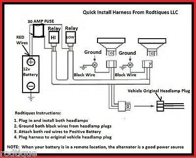 FH_5913] Headlight Relay Wiring Harness Free DiagramDome Ilari Ivoro Bepta Mohammedshrine Librar Wiring 101