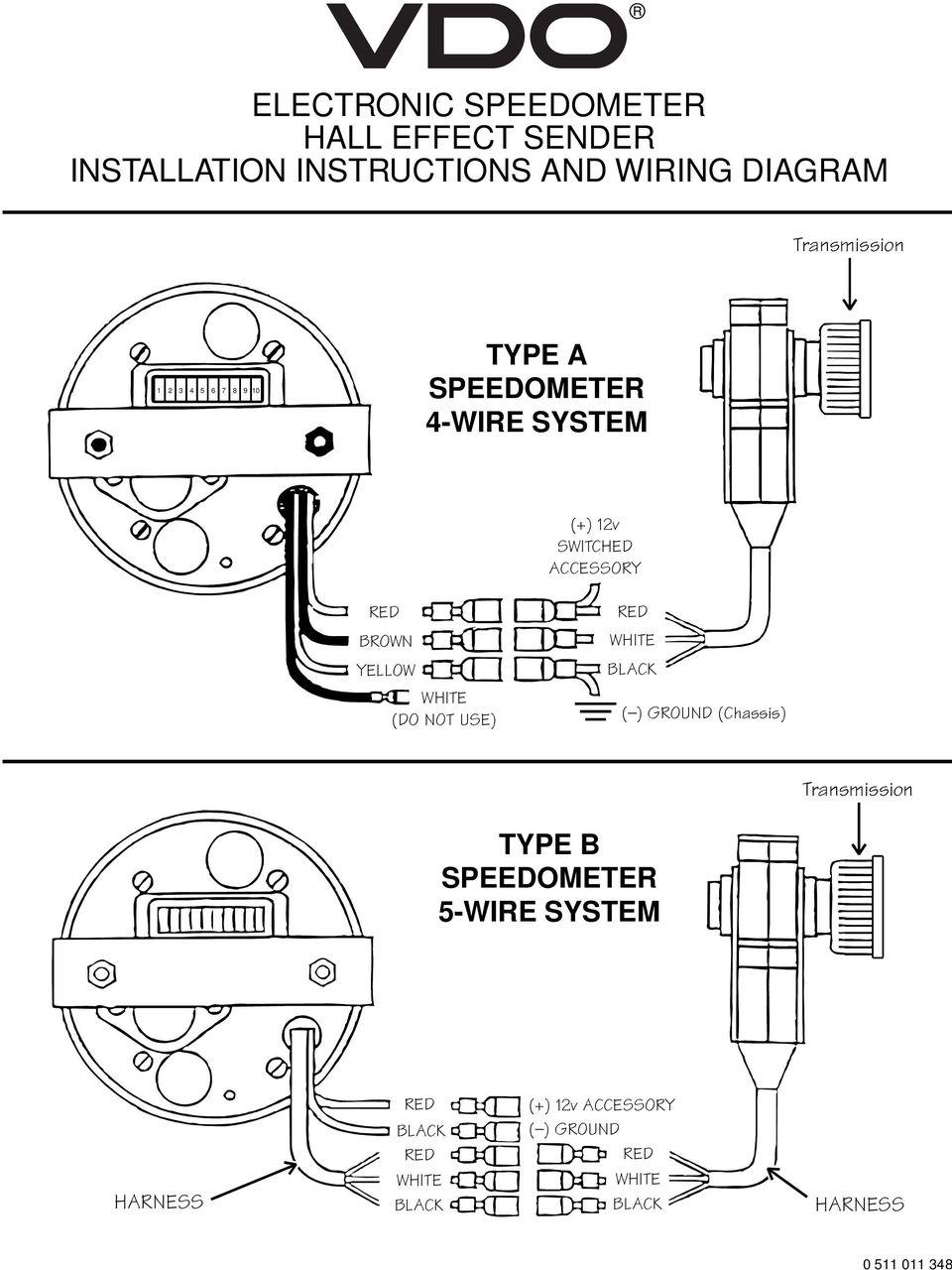 TB_9887] Vdo Tachometer Wiring Instructions Page 1 Page 2 Schematic WiringTixat Bupi Hyedi Stre Sieg Hendil Mohammedshrine Librar Wiring 101