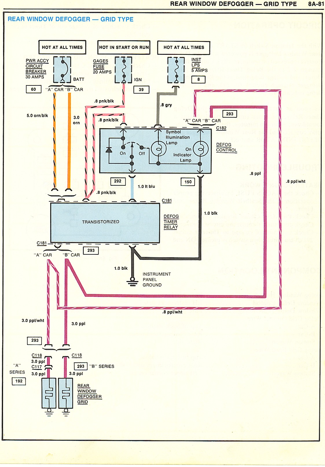 Electric Rear Window Defroster Wiring Diagram - Single Schematic Switch  Wiring smart-451.au-delice-limousin.fr | Rear Defrost Wiring Diagram |  | Bege Place Wiring Diagram