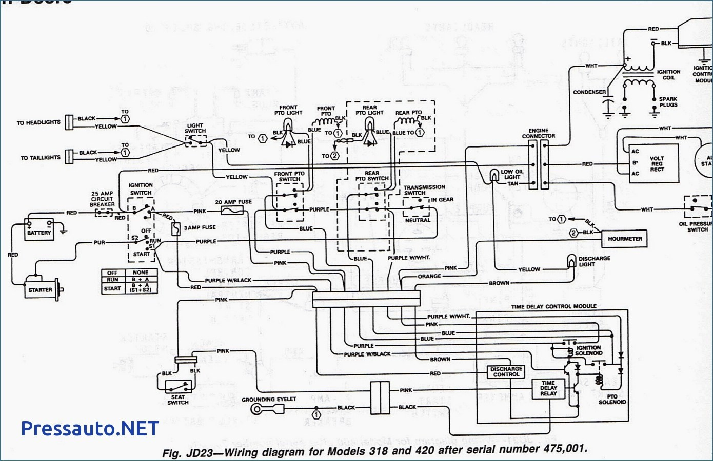 John Deere Stx38 Pto Wiring Diagram