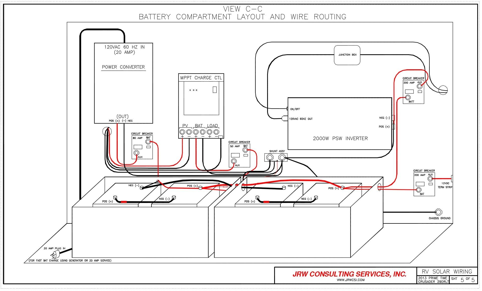 Wiring Diagram For Rv Converter