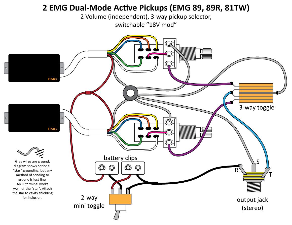 Emg Wiring Schematic - 555 Led Flasher Wiring Diagram for Wiring Diagram  SchematicsWiring Diagram Schematics