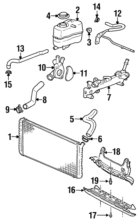 Awesome Oldsmobile Engine Cooling Diagram Wiring Diagram Imp Wiring Cloud Overrenstrafr09Org