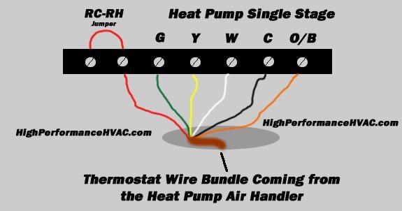Groovy Heat Pump Thermostat Wiring Chart Diagram Single Stage Heat Pump Wiring Cloud Vieworaidewilluminateatxorg