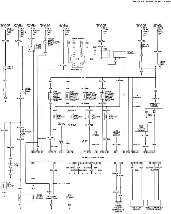 Wiring Diagram For A 1996 Isuzu Npr - Wiring Diagram
