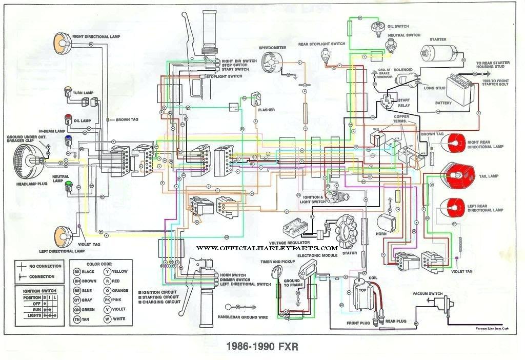 2002 Harley Sportster Wiring Diagram