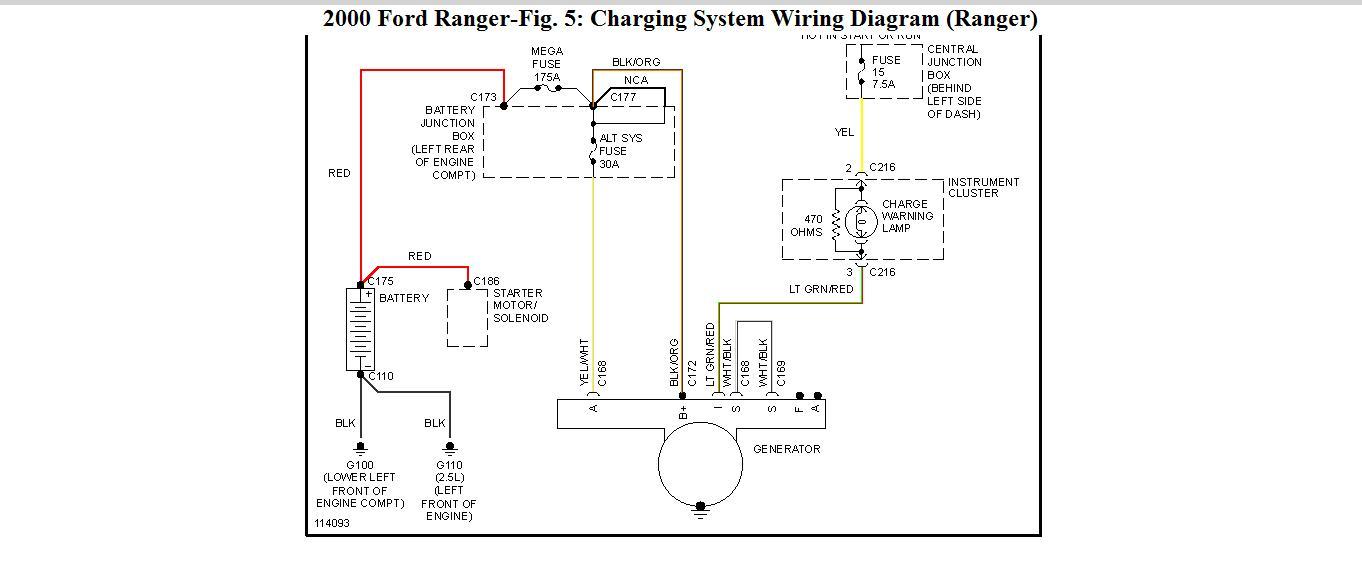 Rr 7593 2000 Ford Ranger Electrical Diagram Download Diagram