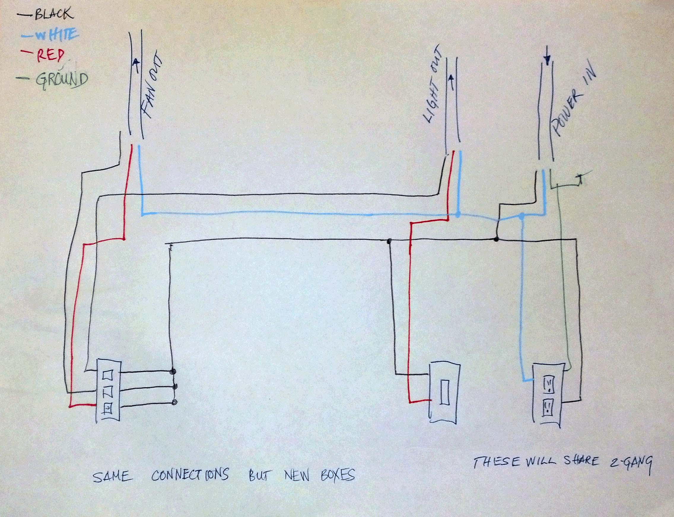 MS_8528] Fan Light Switch Wiring Diagram On Wiring Diagram For A Bathroom  FanEpete Gue45 Mohammedshrine Librar Wiring 101