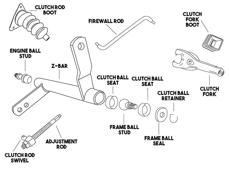 Gf 9936  Chevy Truck Clutch Linkage Diagram Download Diagram