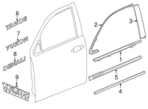 Zd 3352 Chevy Tahoe Door Parts Diagram Download Diagram
