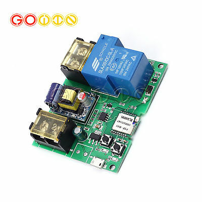 Excellent 220V 30A Wifi Remote High Power Relay Module For Remote Control Wiring Cloud Ostrrenstrafr09Org