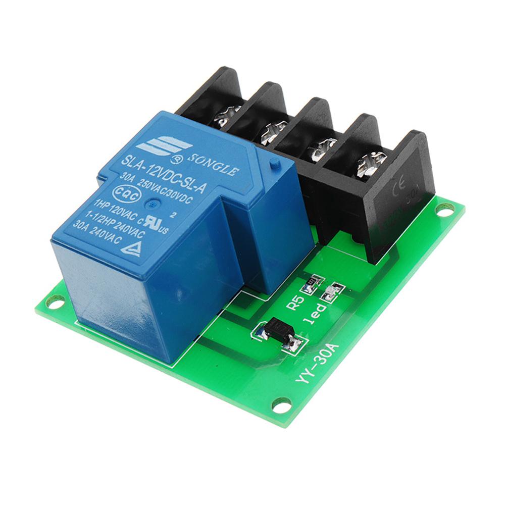 Magnificent 5Pcs 1Ch 12V 30A Relay Module High Power Relay Control Board Single Wiring Cloud Ostrrenstrafr09Org