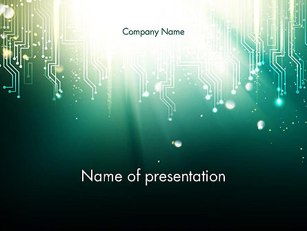 Pleasing Digital Circuit Board Abstract Powerpoint Template Backgrounds Wiring Cloud Cranvenetmohammedshrineorg