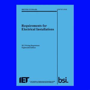 Magnificent The Iet 18Th Edition Wiring Regulation Book Bs 7671 2018 Wiring Cloud Unhoicandsaprexeroixtuhyedimohammedshrineorg
