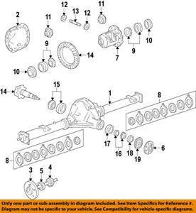 FORD OEM Rear Axle-Differential Pumpkin Cover Gasket TA29