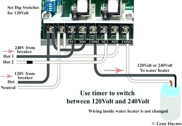 Water Heater Timer Wiring Diagram