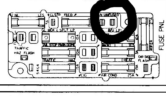 Fx 5340 1971 Chevy Truck Fuse Box Diagram Free Diagram